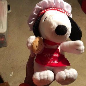 Chef Snoopy plush
